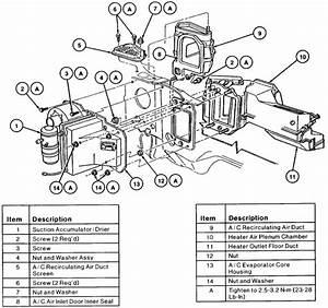 Wire Diagram 1992 Town Car