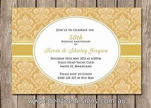 50th wedding anniversary invitations wedding invitation With 50th wedding anniversary invitations to print