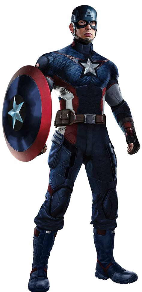 Anad Captain America New Full Body By Spidermaguire On