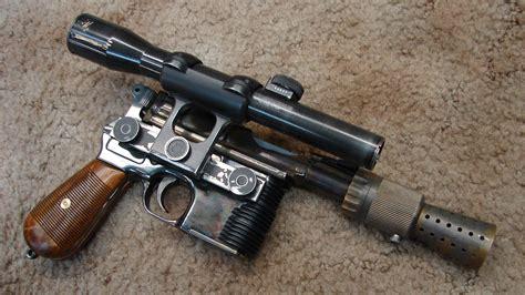 The Legendary Han Solo DL-44 Heavy Blaster Recreated In ...