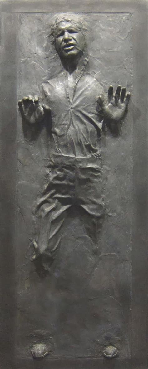 Star Wars decal of Han Solo frozen in carbonite. #starwars ...