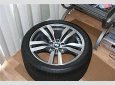 BMW X6M Wheels + tires +TPMS 20