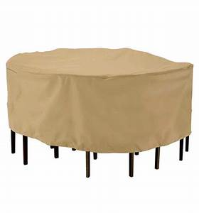 Patio table and chairs cover in patio furniture covers for Cover for patio table and chairs