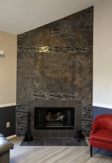 fireplace wall tiles my decorating success andra and deborah walker of birmingham give their great room a
