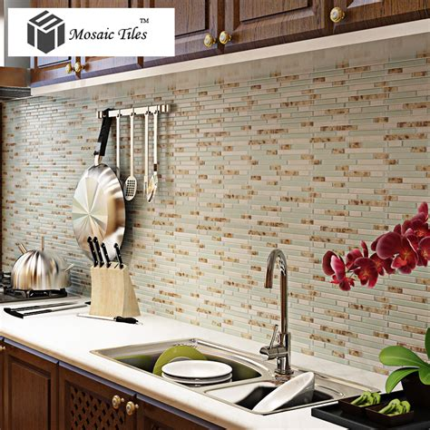 deco kitchen tiles tst glass conch style of pearl shell resin 4186