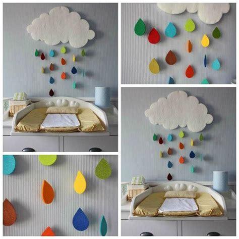 bricolage chambre b décoration murale pour la chambre du bébé vous voulez