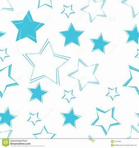 Seamless Star Pattern Background Royalty Free Stock