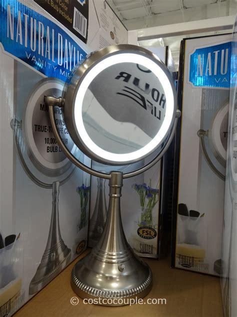 costco lighted mirror sunter daylight vanity mirror