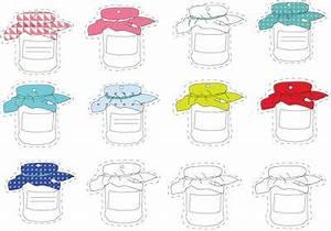 Mes étiquettes Gratuites à Imprimer : etiquette confiture attacher etiquettes imprimer ~ Nature-et-papiers.com Idées de Décoration