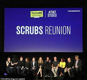 Scrubs cast reunites 8 years after last episode as creator ...