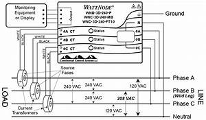 four wire delta circuits continental control systems With 240 volt ct wiring diagram