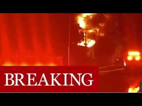 breaking fort lauderdale power outage  huge fire