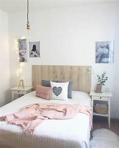 Coussin Gris Et Blanc : 1001 id es pour une chambre rose poudr les int rieurs ~ Melissatoandfro.com Idées de Décoration