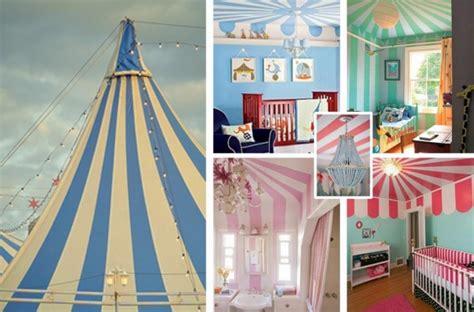 chambre cirque idées de déco chambre fille dans le style romantique très chic