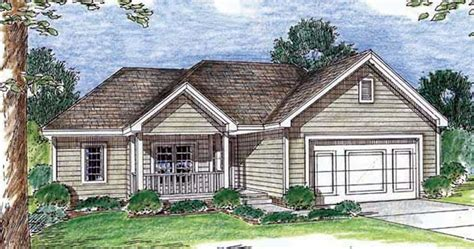small traditional home   bedrooms  sq ft house plan