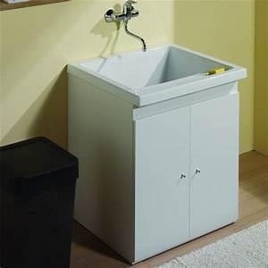 Bac A Graisse Sous Evier : good meuble sous evier cuisine 10 bac a laver ceramique ~ Dailycaller-alerts.com Idées de Décoration