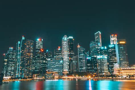 city night view light  hd wallpaper