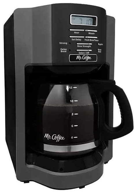 Coffee 12 cup programmable coffeemakers. Mr. Coffee BVMC-EHX33-BM 12 Cup Coffee Maker - VIP Outlet
