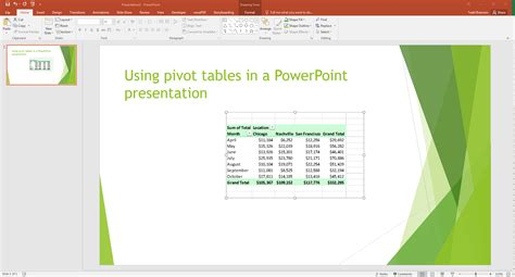 Pivot Tables In Powerpoint By Kasper Langmann  Powerpoint And Presenting Stuff