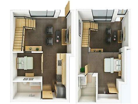 denah rumah minimalis  lantai  kamar tidur terbaru