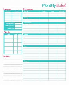 23  Sample Monthly Budget Templates In Google Docs