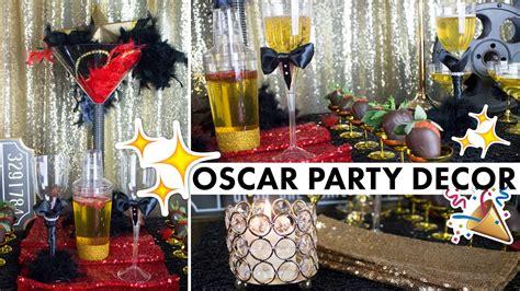 hollywood party theme oscar centerpiece decorations