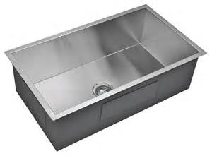 starstar single bowl undermount 16 304 stainless steel kitchen sink contemporary