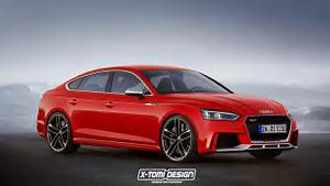 2018 Audi RS5 Sportback Rendered, Will Be Available in