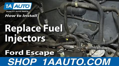Do You To Replace The Fuel To Replace Fuel Filter On A 2004 Mazda 6 by How To Replace Fuel Injectors 01 07 Ford Escape 2 0l