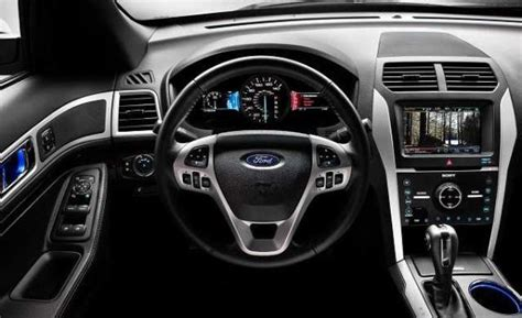 ford explorer 2017 interior 2017 ford explorer best choice for smooth drive on off