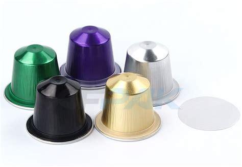 aluminum nespresso capsules afpak chinese professional manufacturer