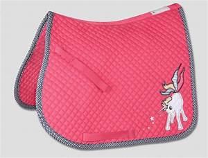 tapis de selle unicorn pour poney rose et bleu nuit poney With tapis de poney
