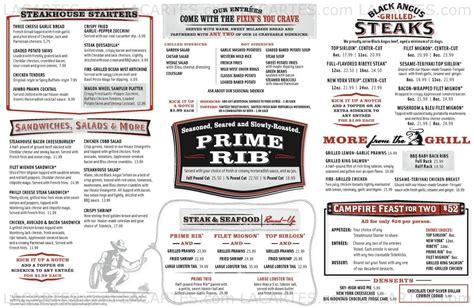 #2 of 2 Price Lists & Menus – Black Angus Steakhouse ...