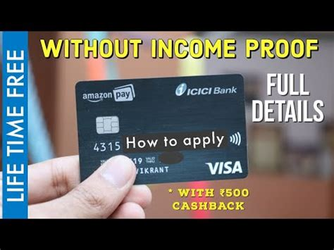 Maybe you would like to learn more about one of these? Amazon Pay ICICI Bank Credit Card | how to apply | Benefits and Details - YouTube