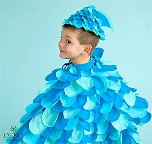Kostüm Fisch Kind : diy cooles fischkost m aus krepppapier deko kitchen ~ Buech-reservation.com Haus und Dekorationen