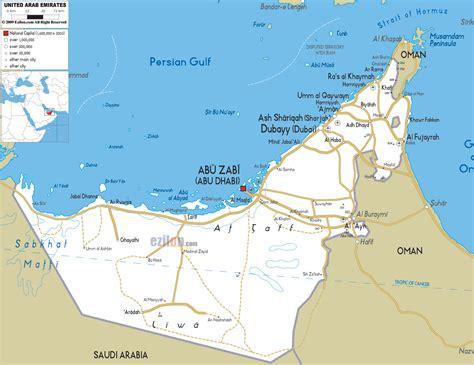maps  uae united arab emirates map library maps