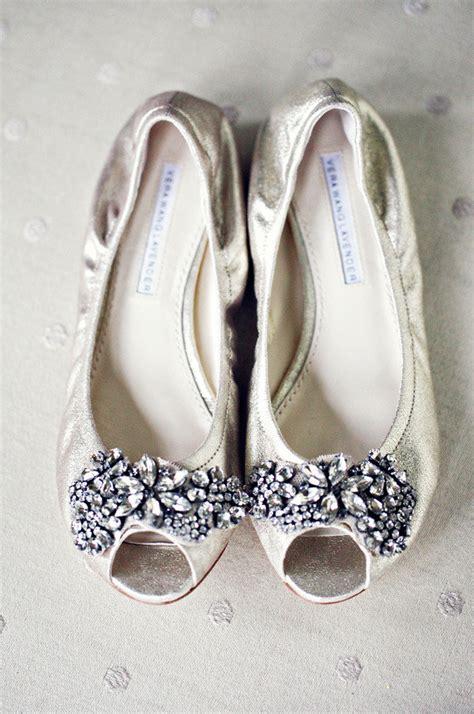 fashion beauty glamour wedding inspiration vera wang flats