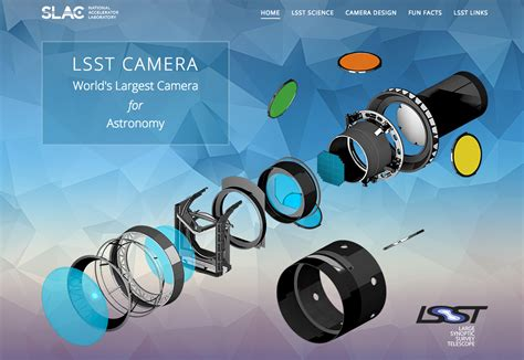 New Camera Website & Video  The Large Synoptic Survey