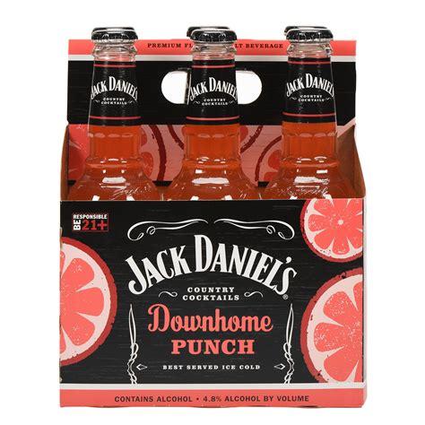 Jack daniels country cocktails downhome punch oak. Jack Daniel's Country Cocktails Downhome Punch, 6 pack, 10 fl oz - Walmart.com - Walmart.com
