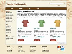 shopsite built in scoop template With shopsite templates