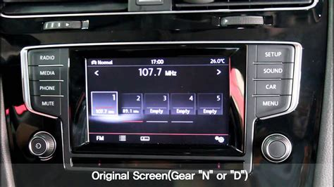 discover media vw golf 7 interface with pas for discover media volkswagen