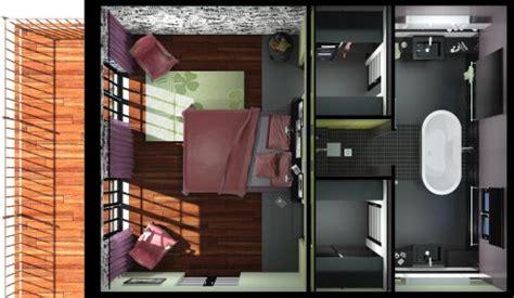 peinture chambre parent suite parentale avec salle de bain et dressing