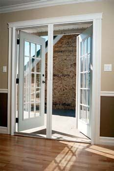 retractable screen  french doors home real imagined