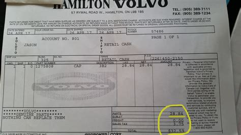 Volvo Xc90 Dealership by Volvo Xc90 Parts Dealership Receipt The 2004 Volvo Xc90