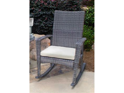 tortuga outdoor bayview wicker cushion rocking lounge