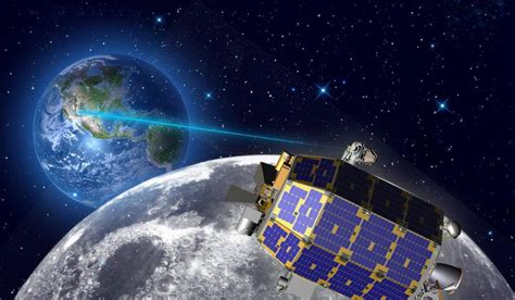 The Moon and NASA communicate via Lasers | wordlessTech