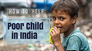 How to Help Poor Child in India