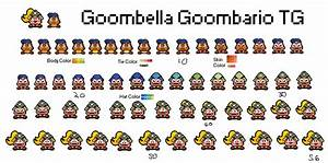 Goombella TG Sprite Sheet by VIII