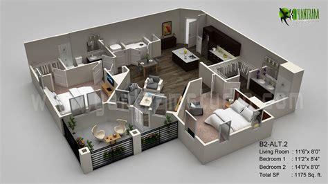3d Floor Plan Visualization Archstudentcom