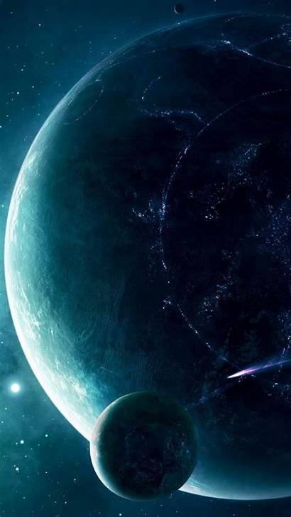 Galaxy Space Samsung Wallpapers Redmi Planet Note